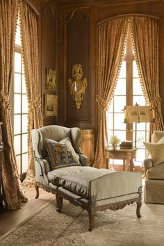 A Step Back in Time: a French Chateau by Kara Childress, Inc.