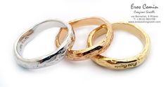 fedi nuziali , anelli matrimoniali dal design esclusivo, fedi artigianali, fedi originali Wedding Rings handcraft by Eros Comin