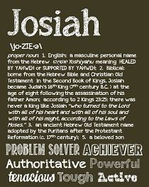 Unusual baby names from the dictionary unique baby parents and josiah negle Choice Image