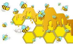 Little bee with honeycomb vector illustration 04 - https://www.welovesolo.com/little-bee-with-honeycomb-vector-illustration-04/?utm_source=PN&utm_medium=wesolo689%40gmail.com&utm_campaign=SNAP%2Bfrom%2BWeLoveSoLo