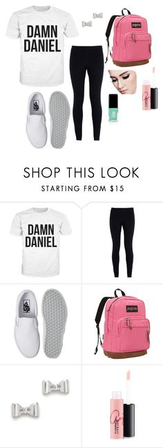 """Damn Daniel"" by ambroselove on Polyvore featuring NIKE, Vans, JanSport, Marc by Marc Jacobs, MAC Cosmetics and Jin Soon"