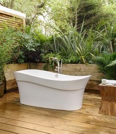 Beautifully designed bathtub with a wave-like design inspired by the sea.  Link in bio for more info! #30daysofBathtubs #homestyle #interiorwarrior #interior4all #bathroomdecor #bathroomdesign #interiorstyle #bathtubs #bathroomideas #bathdecor #showeressentials #spalike #luxury #interiors #interiorinspiration #dropinbathtub #interiordesign #homegram #instahome #livableluxury #currentdesignsituation #designinspiration #homegoals #bathroomgoals #interiorinspo