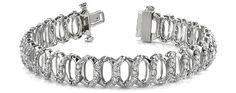 Intertwined Diamond Bracelet