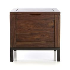 Tucker Side Trunk in Coffee Tables & Side Tables | Crate and Barrel