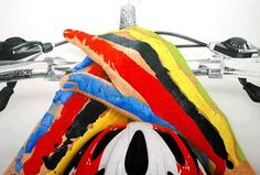 "Saatchi Art Artist Adrià Pina; Painting, ""Cicliste"" #art"