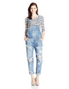 One Teaspoon Women's Awesome Overall, Ford, 24