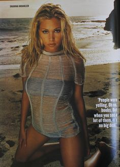 Maxim Magazine #23 November 1999 -  Shanna Moakler editorial page 3