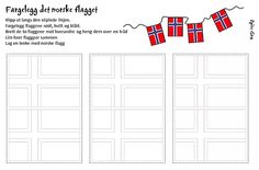 Naturfagserie for barn May National Days, Diy And Crafts, Crafts For Kids, Constitution Day, Teaching Biology, Norway, Red And White, Flag, Bullet Journal