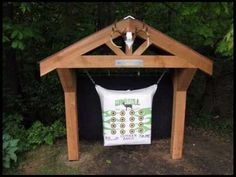 archery backstop for CJ. Babe, you could totally build this for him in the backyard. How awesome! Archery Range, Archery Tips, Archery Hunting, Hunting Gear, Bow Hunting, Crossbow Targets, Archery Targets, Archery Target Stand, Deer Hunting Blinds