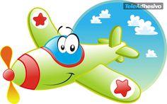 Stickers for Kids Ruedavioneta