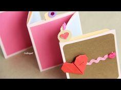 Pocket Stand-up Album // Regalo Día del amor y la amistad - 14 Febrero
