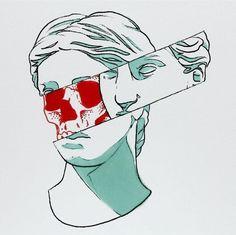 Statue skull deletion