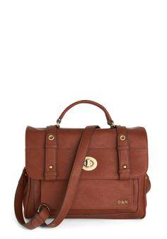 Winsome Wayfarer Satchel | Mod Retro Vintage Bags | ModCloth.com