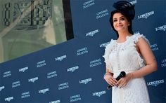 Aishwarya Rai Stunning in white BCBG Dress