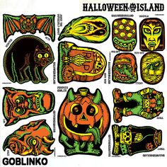 HALLOWEEN ISLAND - HALLOWEEN CUT-OUT DECORATIONS #2 – GOBLINKO MEGAMALL
