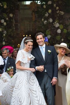 Jean Christophe Napoleon, Olympia, French Royalty, Royal Weddings, Glamour, Marie, Flower Girl Dresses, Couture, Bridal