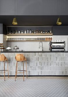 46 The Idea of ​​a Basement Bar basement bar designs, industria. 46 The Idea of ​​a Basement Bar basement bar designs, industrial basement bar, rus Restaurant Design, Architecture Restaurant, Interior Architecture, Design Hotel, Design Café, Cafe Design, Paris Design, Design Room, Design Trends