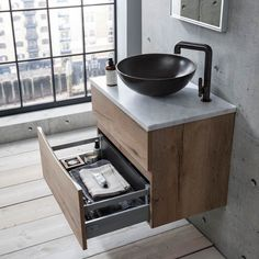 Find your perfect countertop basin unit here, with designer countertop vanity units from brands such as Roper Rhodes and Crosswater available up to off. Basin Vanity Unit, Basin Unit, Bathroom Vanity Units Uk, Bathroom Basin Cabinet, Bathroom Storage, Bathroom Ideas, Countertop Basin, Countertops, Bauhaus