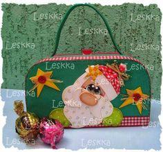 maletita santa 1 Biscuit, Punch Art, Christmas Fun, Lunch Box, Santa, Crafts, Xmas Ideas, 1, Christmas Boxes