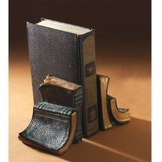 Book Club Vintage Bookends  by Two's Company