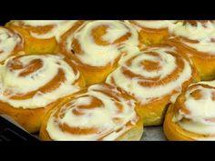 Nejchutnější domácí buchty, jaké jsme kdy zkusili! Perfektní!| Chutný TV - YouTube Doughnuts, Cheesecake, Food And Drink, Baking, Breakfast, Ethnic Recipes, Vegetarian, Easy Trifle Recipe, Basket