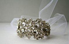 Spiderweb Bridal Cuff
