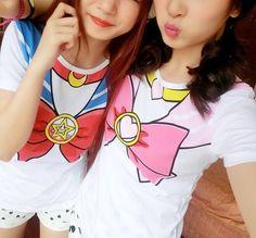 Anime Costume Sailor Moon Chibimoon Kawaii Cute T-Shirt Top - SKU: 500222 Two styles to choose from. Vocaloid, Sailor Moon Birthday, Sailor Moon Shirt, Cozy Fall Outfits, Cute Tshirts, Kawaii Cute, Cosplay Costumes, Super Cute, T Shirts For Women