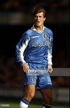 Brian Laudrup of Chelsea during the FA Carling Premiership match against Charlton Athletic at Stamford Bridge in London Chelsea won 21 Mandatory...