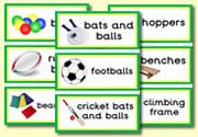 P.E. Signs/Labels(Perfect for organisation of STUFF)