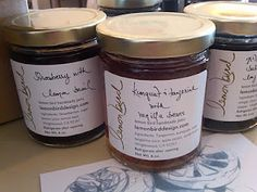 LemonBird Jams are some of the best most unique jams I have ever tasted - this jam artisan hand makes every batch using fresh local ingredients - her flavor combos are out of this world delish!