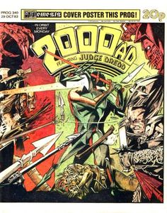 Cover for 2000 AD (IPC, 1977 series) #340