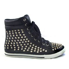 Tallie High Top Black, $45, now featured on Fab.