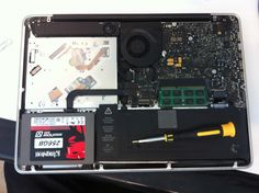 SSD on Mac Book Pro