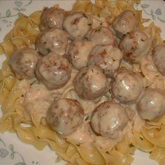 Easy Swedish Meatballs Recipe