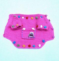 Dog Sweater/ pink Dog Wear/ small dog от LyudmilaHandmade на Etsy