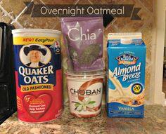 Our Semi Organic Life: Overnight Oatmeal
