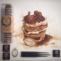 Incredible Coffee Paintings By Maria Aristidou | UltraLinx