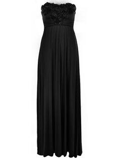 Ally Fashion. Pleated Maxi, Bridesmaid Dresses, Formal, Wedding, Inspiration, Black, Fashion, Bridesmade Dresses, Preppy