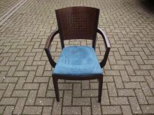 Dark Wood Carver Chair www.cityfurnitureclearance.co.uk