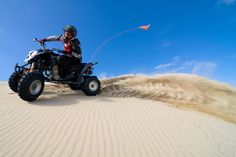 ATV Pismo Beach - one of the largest coastal sand dune ranges in the world
