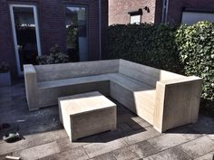 Lounge corner 240x240 Table or couch extension 80x80
