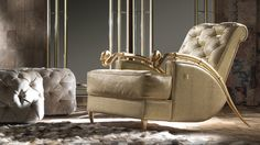 Feel Like A King Try The Snake Armchair From Roberto Cavalli Home Interiors Collection