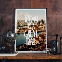 Instant Download Venice San Marco Typography by BitterMoonStudio