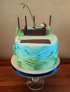 Row row row your boat :) - Cake by Divine Bakes
