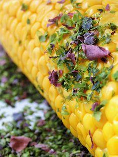 Epi de maïs persillé | Des Goûts et des COULEURS © Charlotte Dumas