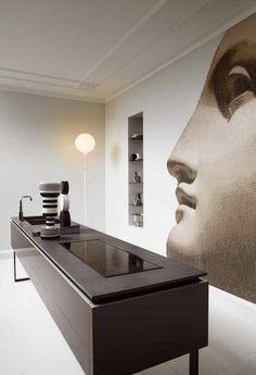 Modern Home Decor Interior Design Modern Kitchen Design, Interior Design Kitchen, Home Design, Modern Interior, Interior Decorating, Kitchen Designs, Room Interior, Decorating Ideas, Decor Ideas