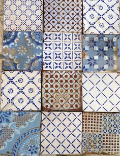 Traditional Sicilian tiles. Italian tiles have the most beautiful patterns.  www.worldmosaictile.com