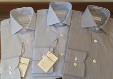 Bespoke pattern making is the foundation of our shirt collection, not to mention the years Simon spent in the garment industry. After two years and many satisfied customers we can proudly say that our house cut compliments a wide variety of body shapes, due to the 'semi slim' fit, which can be darted for a slimmer figure. We cut a longer than average sleeve length, which can be easily shortened by any alteration tailor, if necessary. Men's Fashion Brands, Bespoke Tailoring, Pattern Making, Body Shapes, Compliments, Foundation, Menswear, Slim, Sleeve