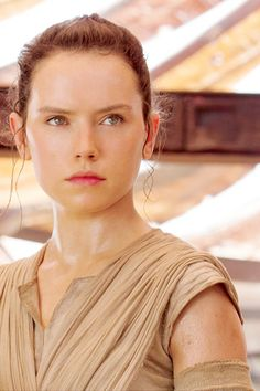 Rey is an incredible lead for this fantastic movie!!!! Love her, and I am so glad Star Wars created another female character I can look up to, as opposed to the idiots we are subjected to in 99% of films. They set the bar with General Leia, and Rey does NOT disappoint!