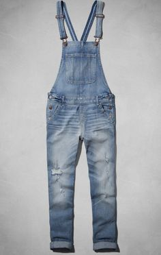 Abercrombie Allie Boyfriend Overalls - Click, there is more to see!
